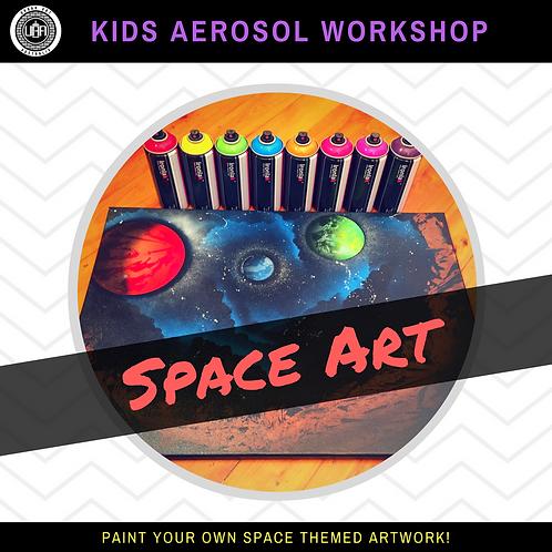 Private Workshop | Space Art | (10 kids)