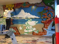 Westfields street art mural