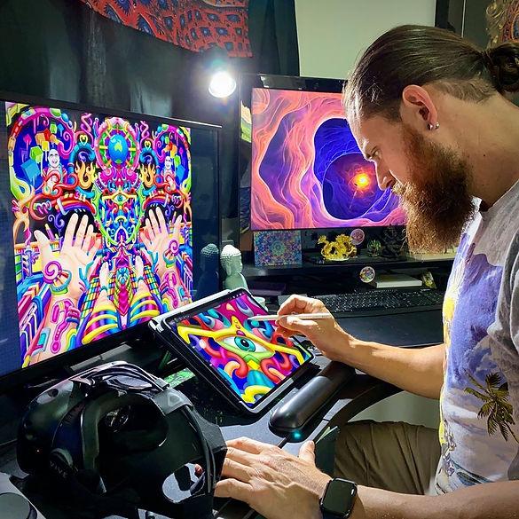 Ayjay Art Psychedelic Artist.jpg