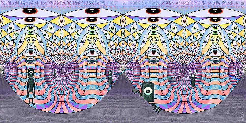 Artwork by Alga the artist