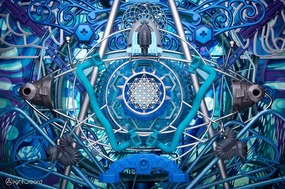 visionary art by Steven Willis aka light wizard