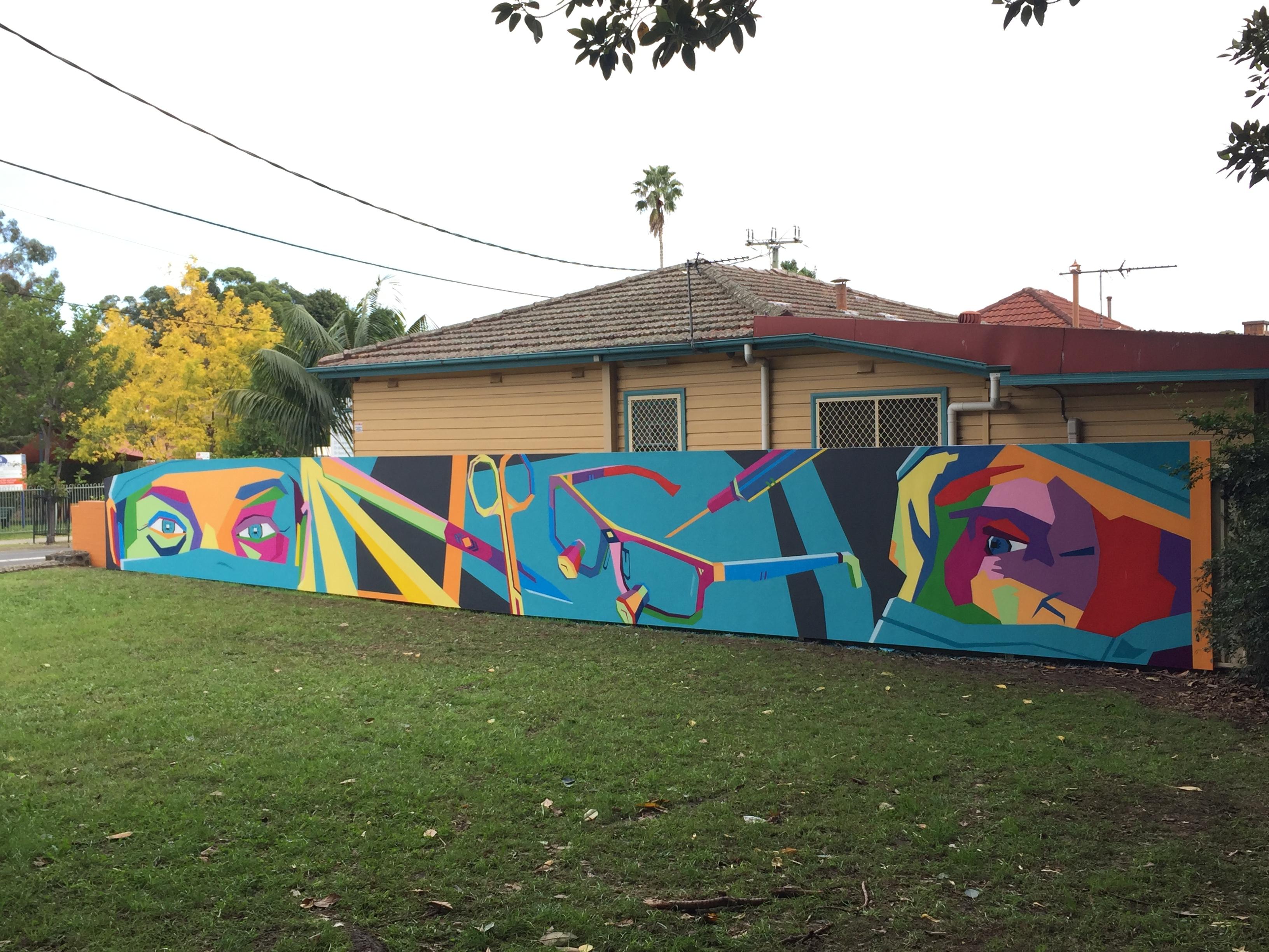 Wollongong Street Art Mural