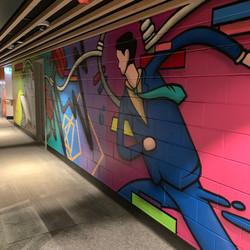 End of trip mural artwork
