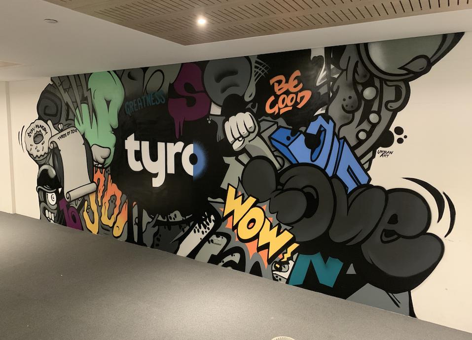 Corporate Street Art Mural