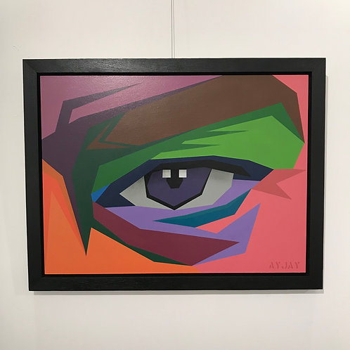 'The Doorway of Perception' 2018   Framed Artwork