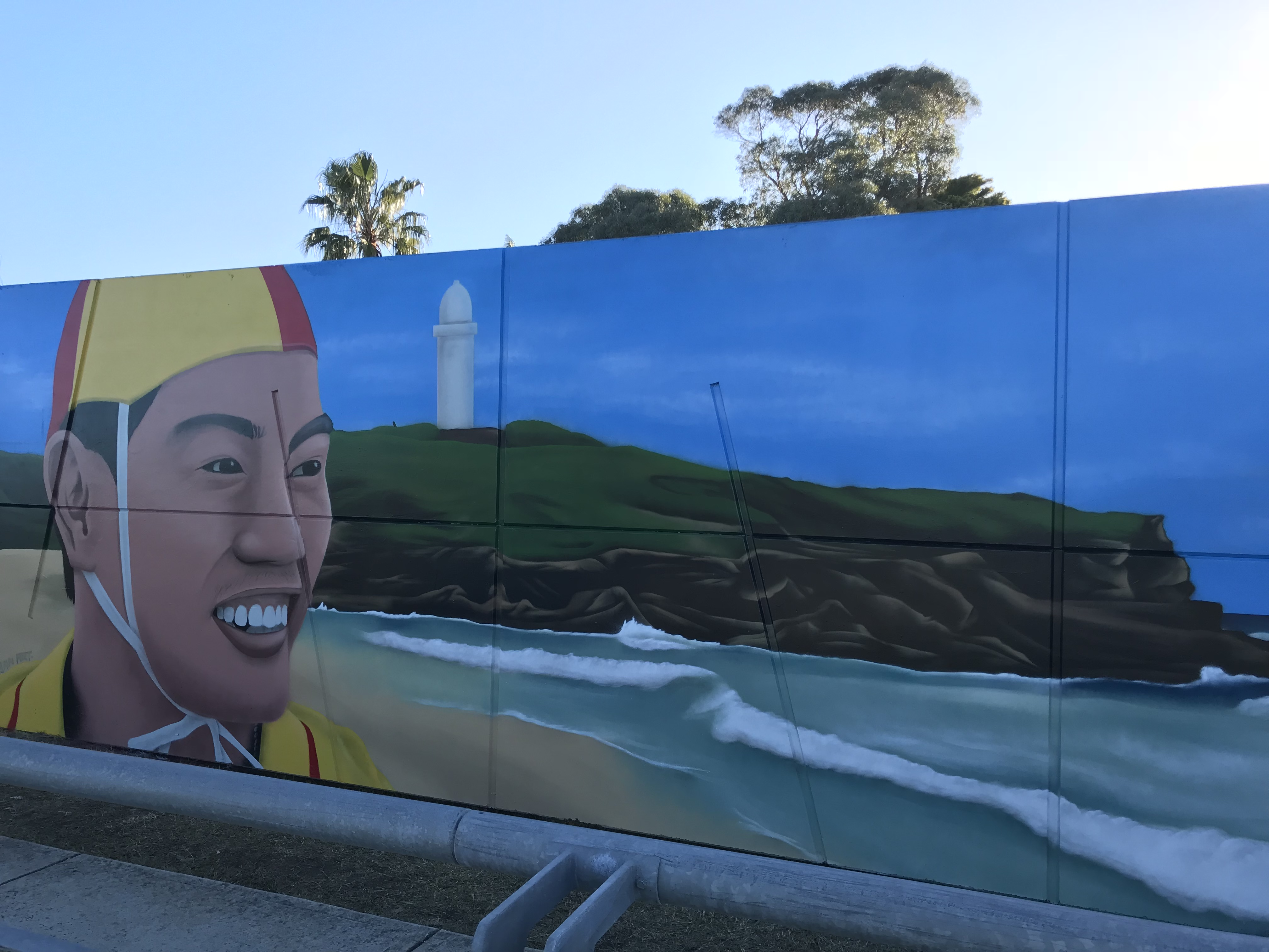 Australian Lifeguard Mural Art