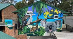 Main wall graffiti mural at school-01-01-01