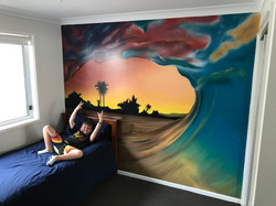 mural painted for kids bedroom best idea