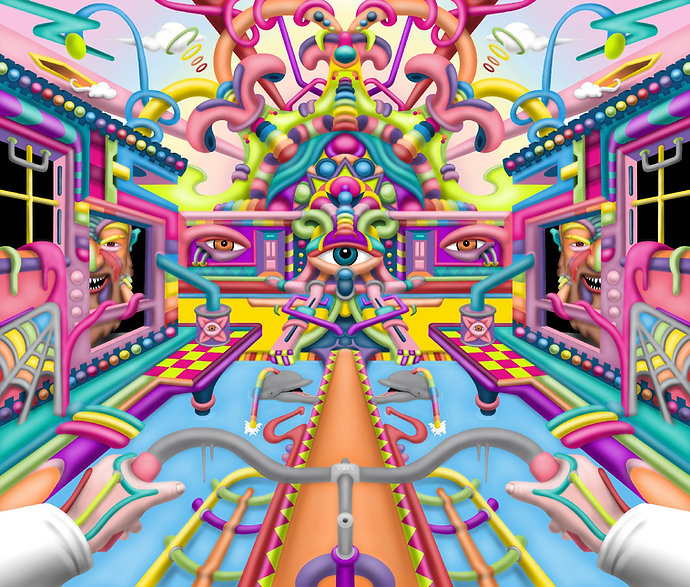 Psychedelic LSD Art by Ayjay.jpg