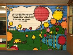 Dr Seuss Public School Mural