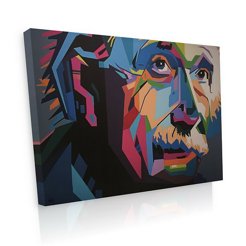 Albert Einstein | Signed Canvas Print
