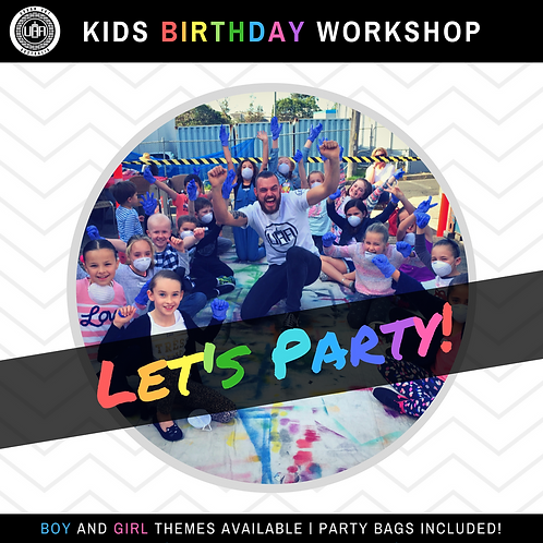 Kids Birthday Workshops | Boys & Girls | (10 kids)