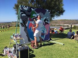 Urban Art - Live Mural Art