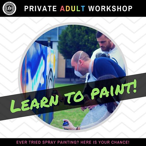 Private Workshops | Adults 16+ | (10 participants)