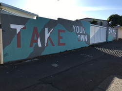 Sion Griff laneway mural art