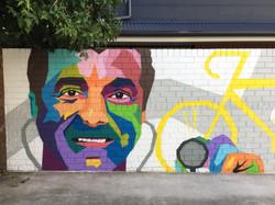 Doctor mural Urban Art