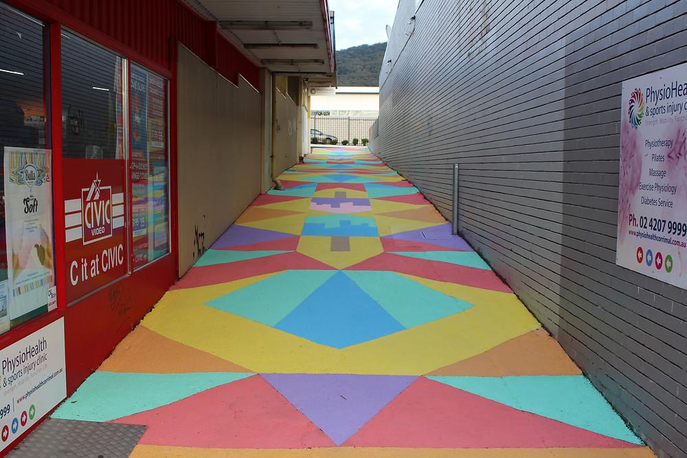 Laneway community mural project