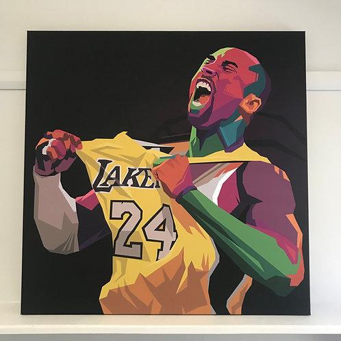 Kobe Bryant | Signed Canvas Print