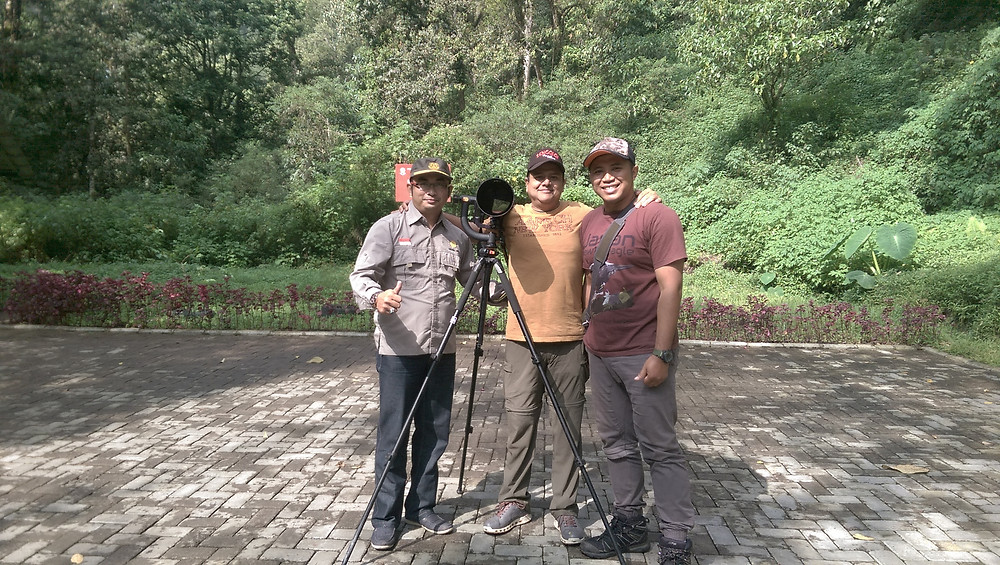Finished bird-photography trip in Malang