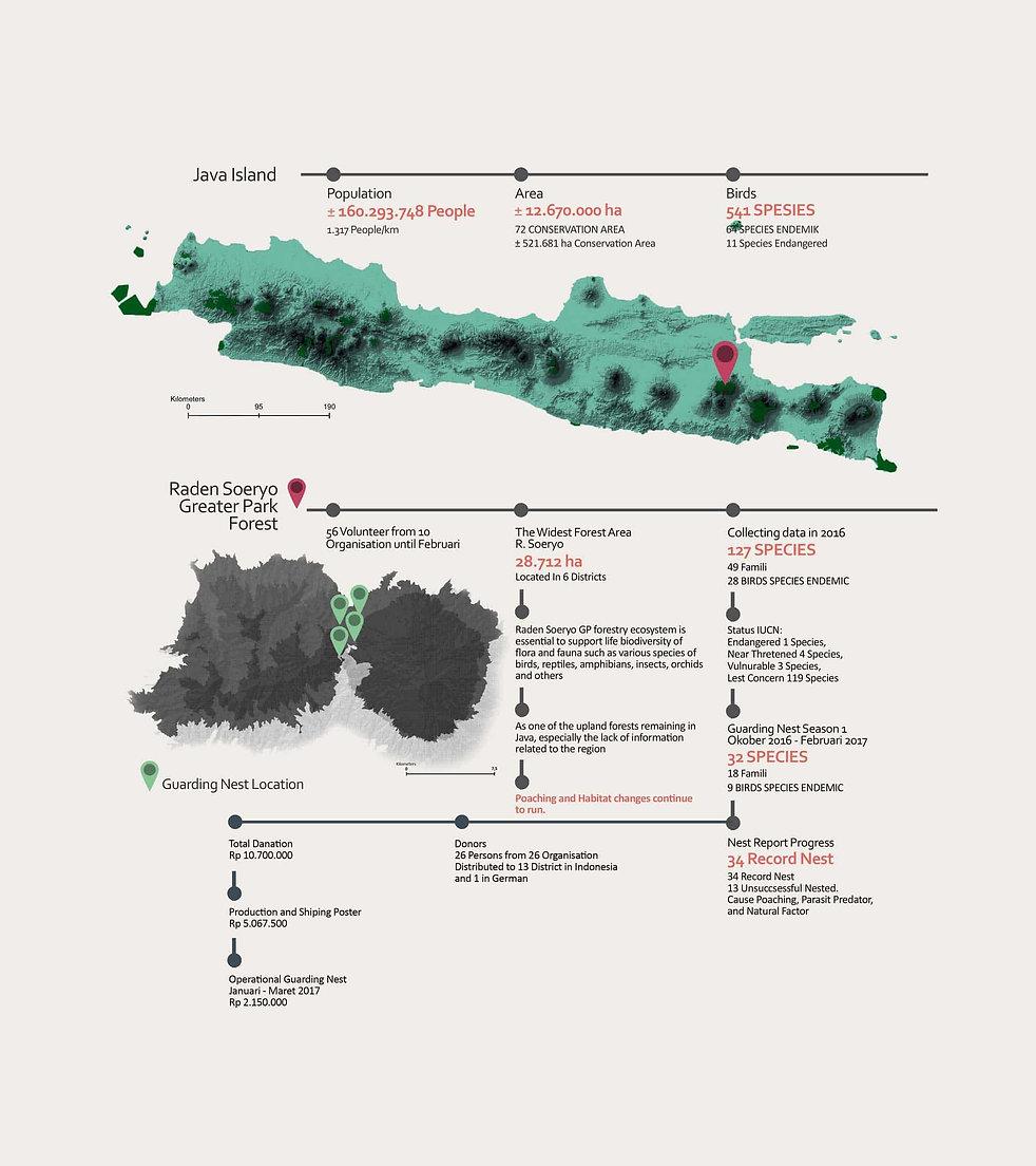 Infographic nest guarding