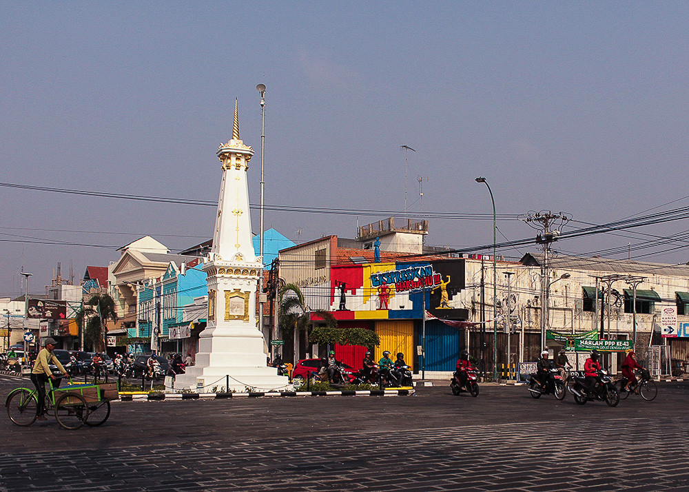 Landmark of Jogja city