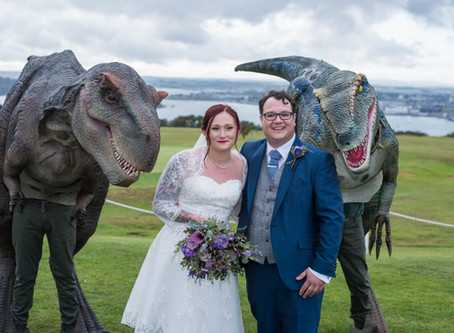 Dino Themed Wedding!