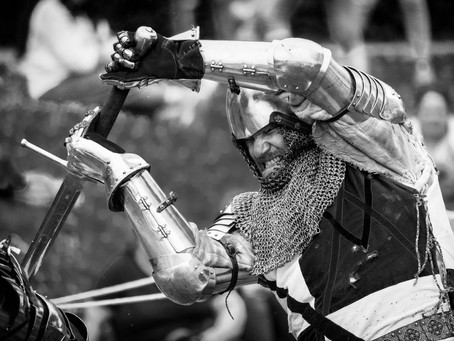 Knight Battle Enactment