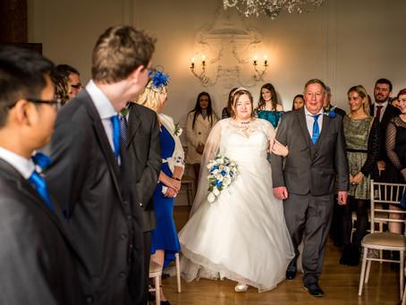 Anna and Stuart Winter Wedding