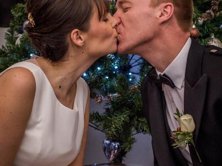 Lucy and Alex Thompson Xmas Wedding