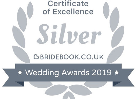 Bridebook.co.uk Awarded Artisan Photography a Silver Certificate of Excellence!