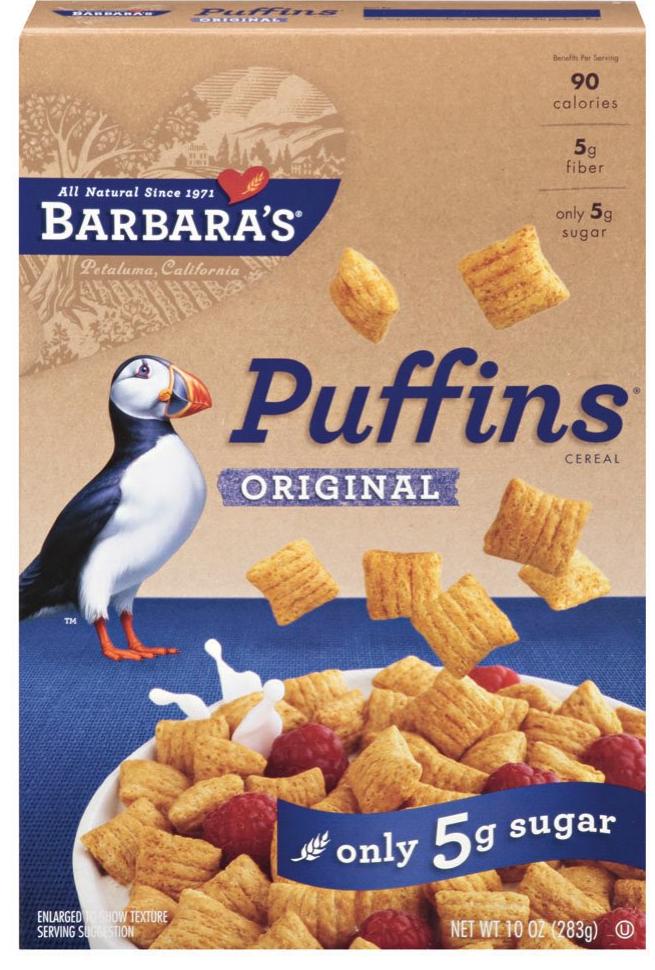 Barbara's Bakery - Puffins