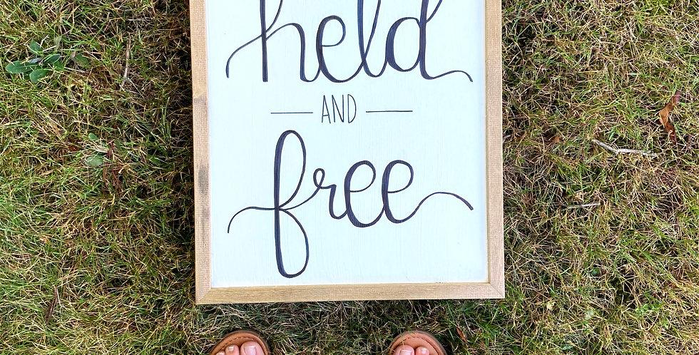 Held & Free