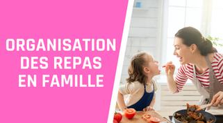 Famille : comment gérer la préparation des repas?