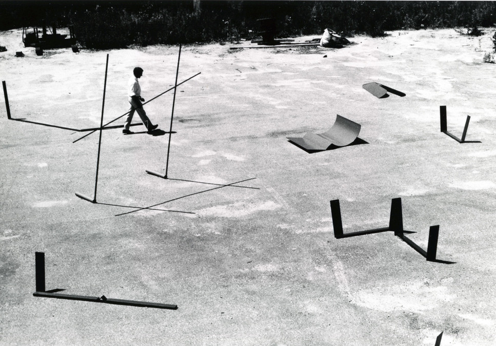 Anthony Caro at Bennington College, Vermont, 1965