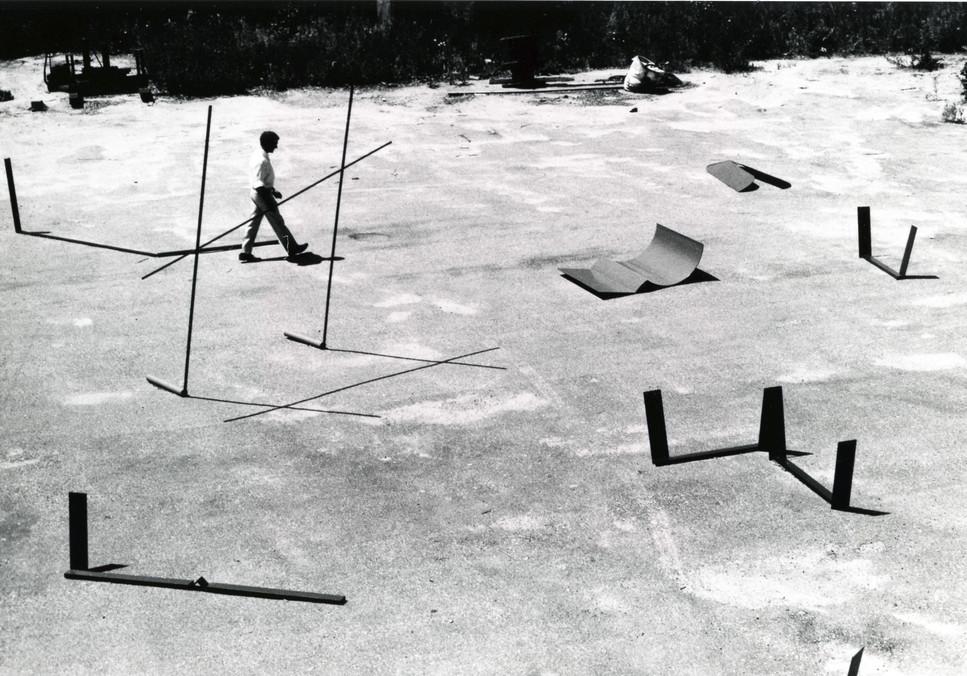 Anthony Caro at Bennington College, Vermont, 1965