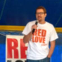 Pascal Sacleux , organisteur du Red Love Festival