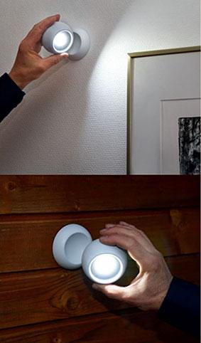 LAMPJE 3 STANDEN MAGNETISCH