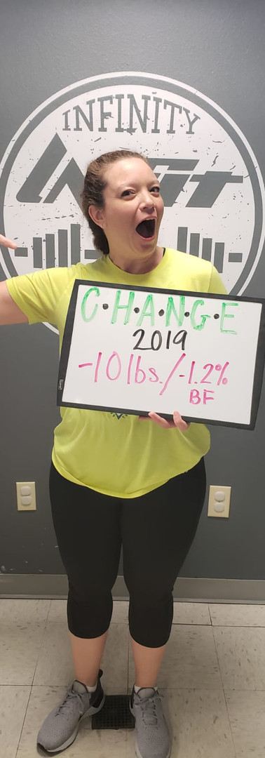 Carrie's Transformation - 10 lbs