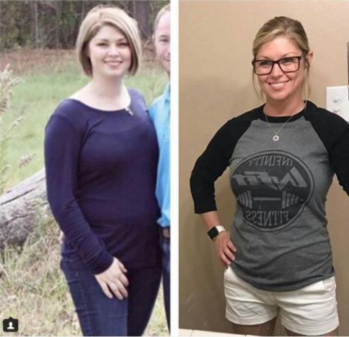 INFIT Transformation Becky
