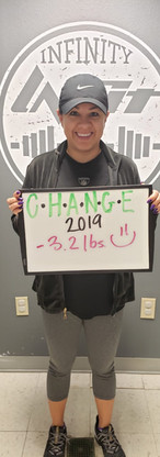 Amy's Transformation - 3.2 lbs