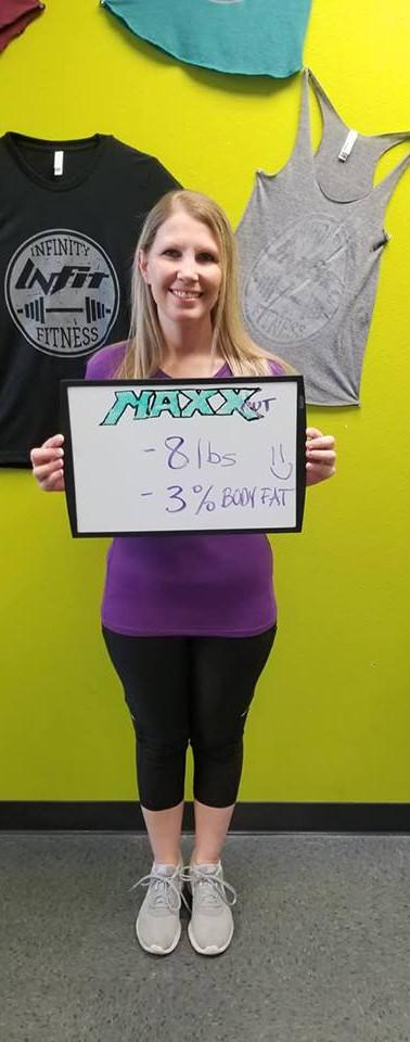 Alicia's Transformation - 8 lbs
