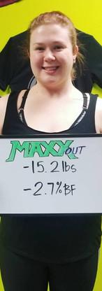 Alyse's Transformation - 15.2 lbs