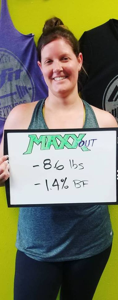 Sarah's Transformation - 8.6 lbs