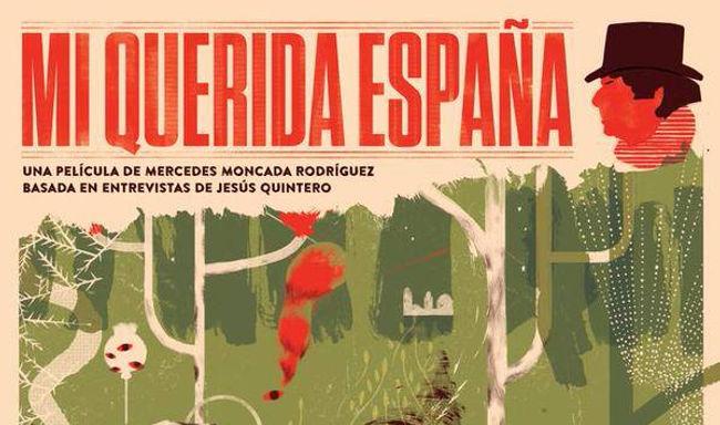 Mi querida España.Cartel