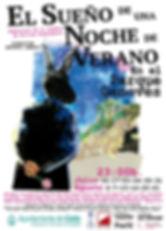 cartel el sueño de una noche de verano parque genovés