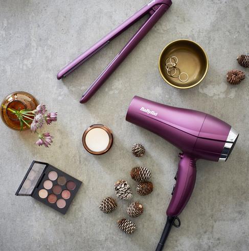 2513U Velvet Orchid Straightener
