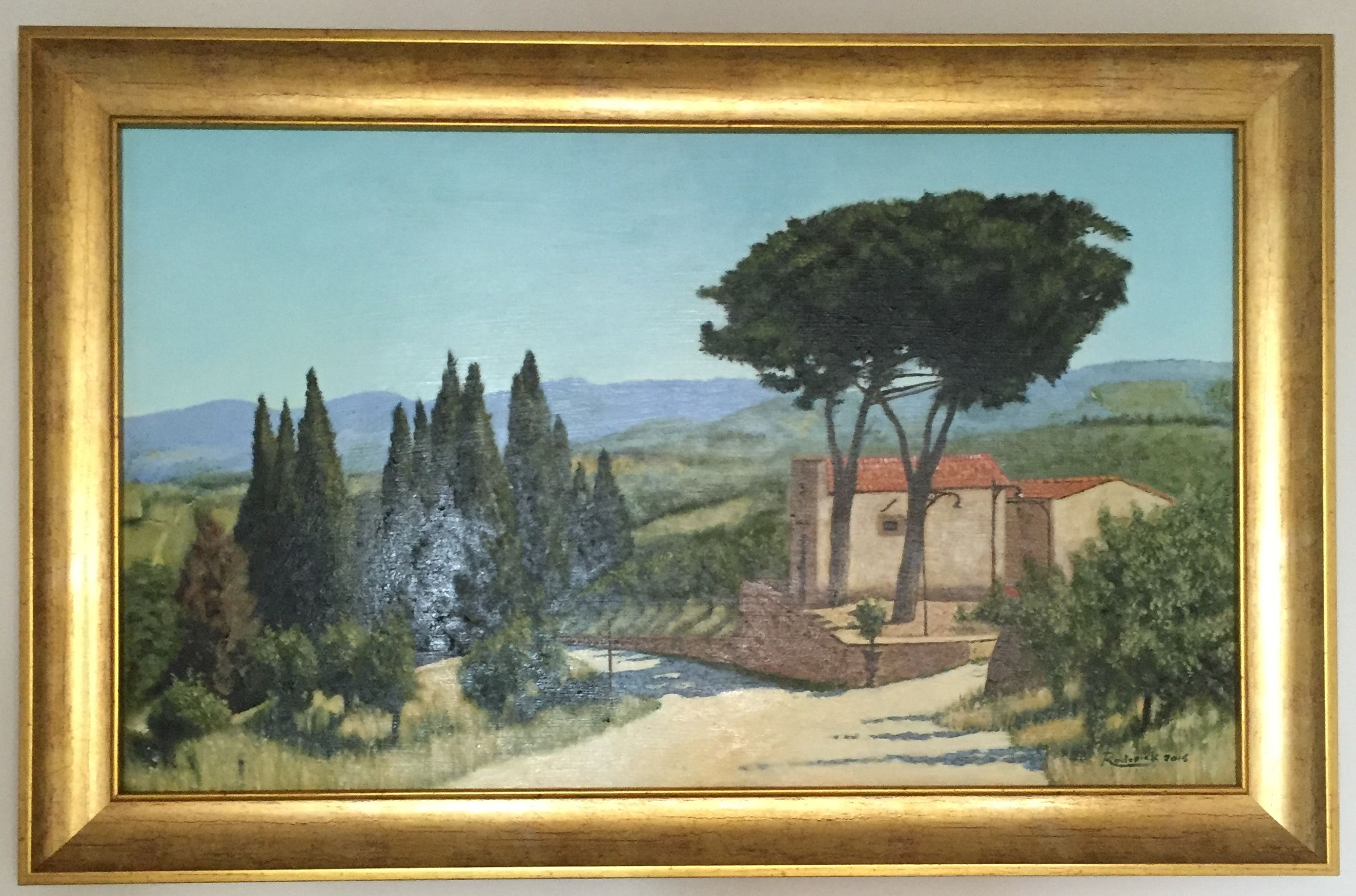 Framed_Oil_Painting_Landscape