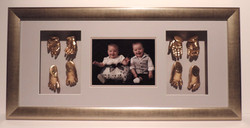 Framed Baby_Hand_and_Feet_Moulds_Memorabilia