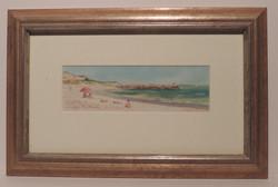 Framed Watercolour_Port_Beach