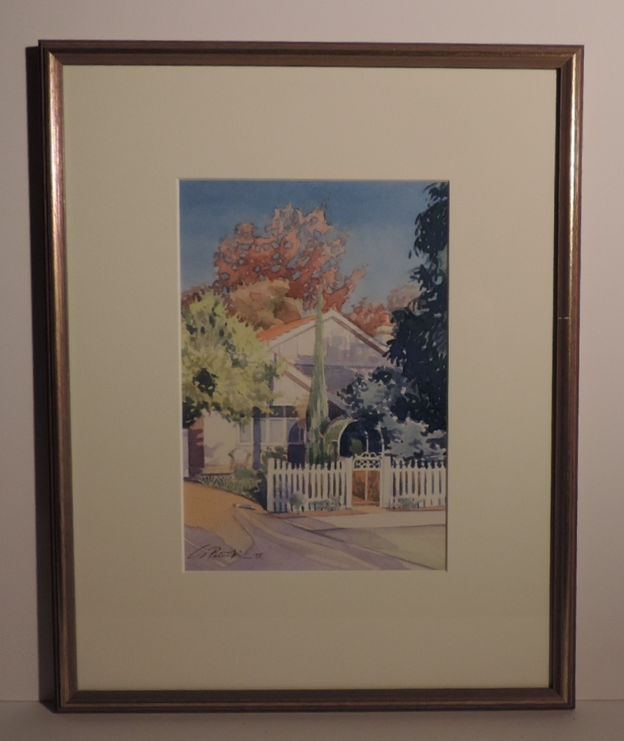 Framed_Watercolour_House